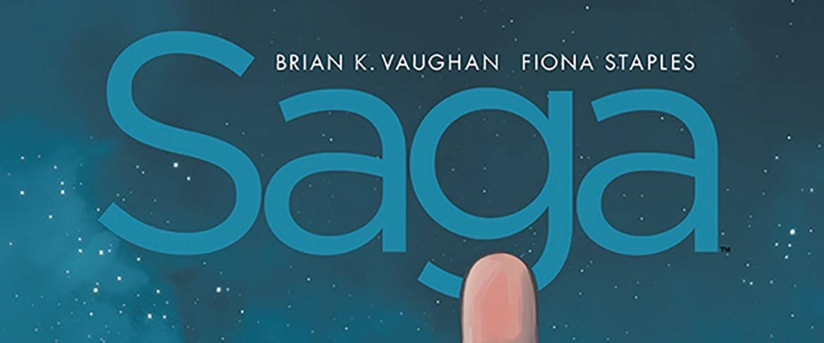 Saga Compendium Volume 1, Image Comics, Brian K. Vaughan, Fiona Staples, Saga, science fiction, fantasy, comic book, compilation