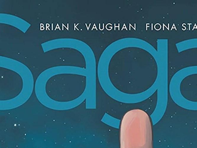 Saga Compendium Volume 1, Image Comics, Brian K. Vaughan, Fiona Staples, Saga, science fiction, fantasy, comic book, compilation