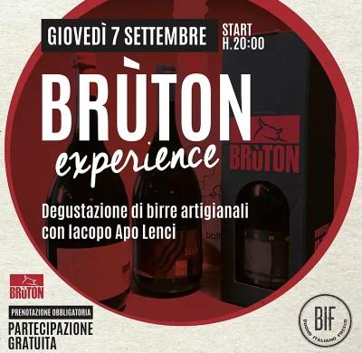 bruton experience bif - birra bruton