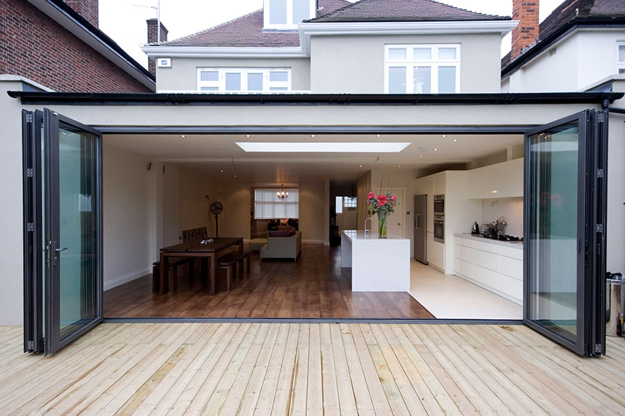 Bi Fold Doors UK Aluminium BiFold Doors Windows Amp Roof