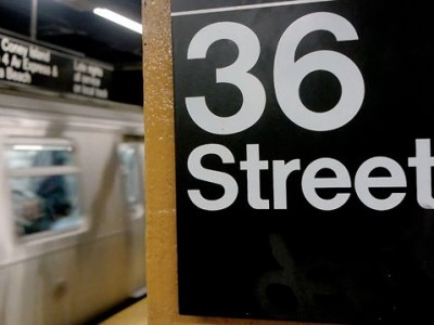 New York City Subway Stairs