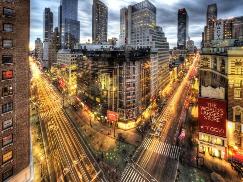 Herald Square in Manhattan