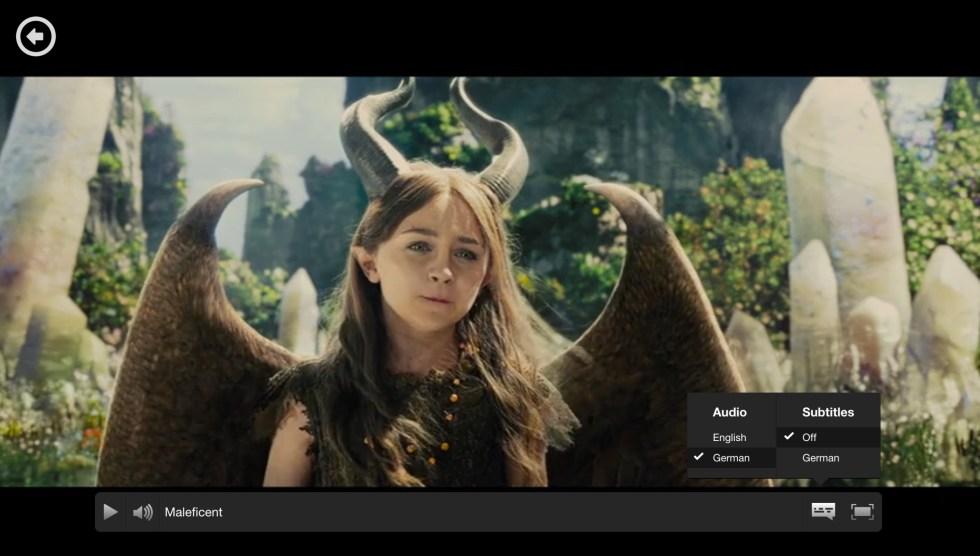 Netflix auf Deutsch