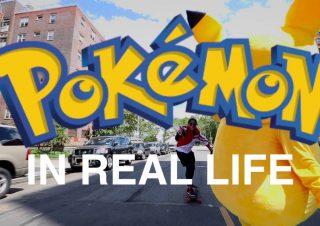 Pokémon Go IN REAL LIFE