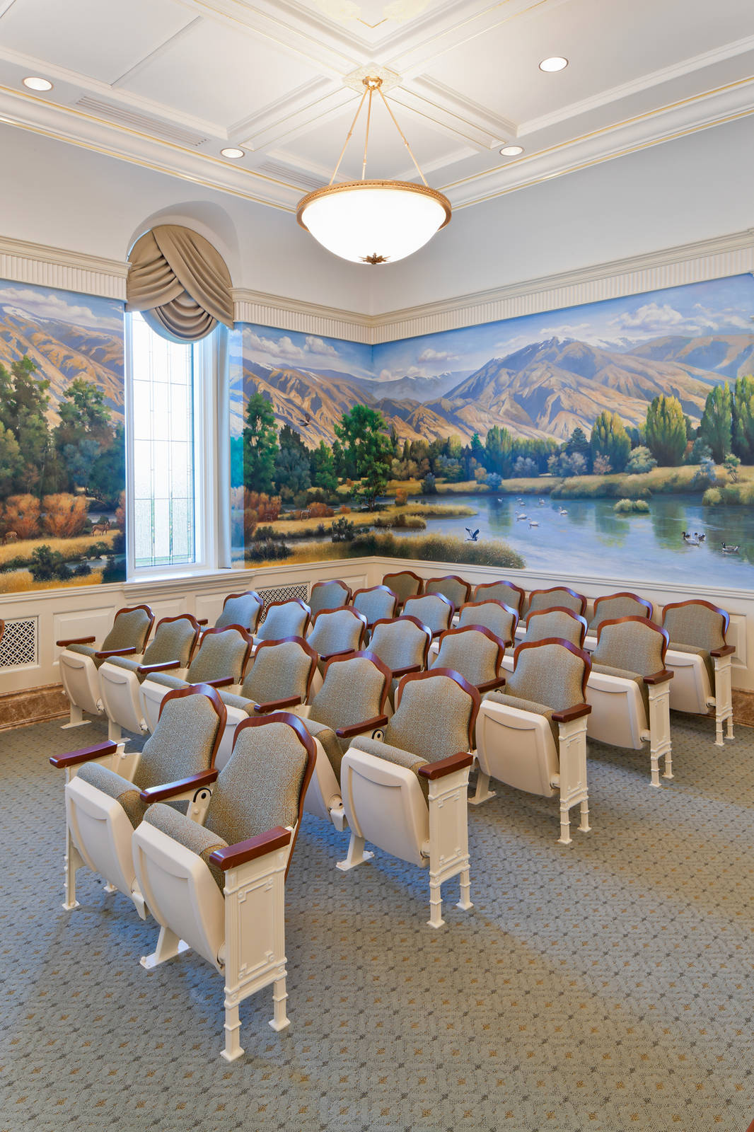 Brigham City Temple Interior