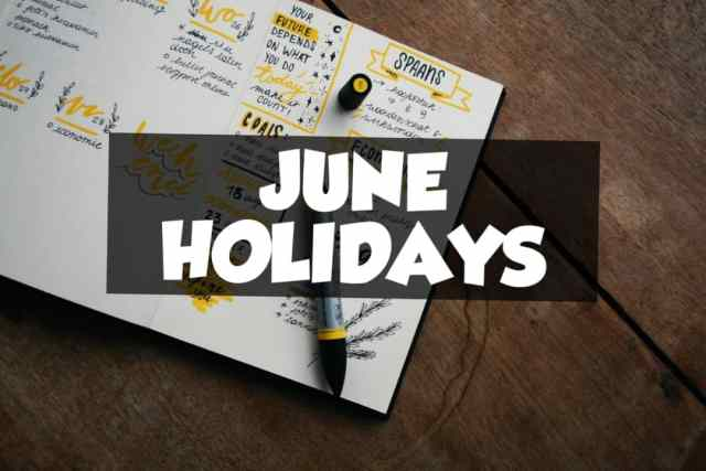 June 10 holidays and observances