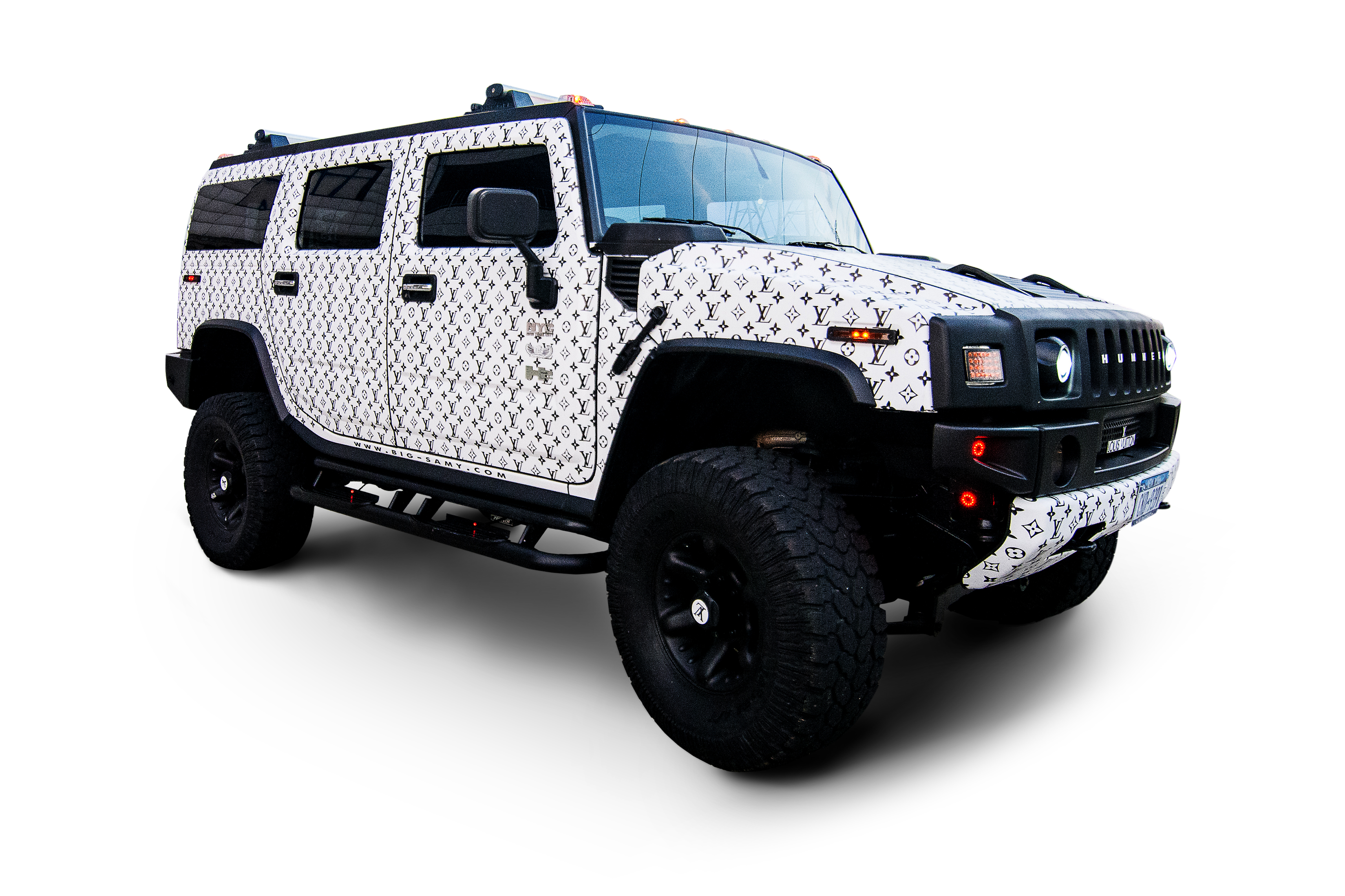 Hummer H2 Custom Louis Vouitton Big Foot Big Samy ficial