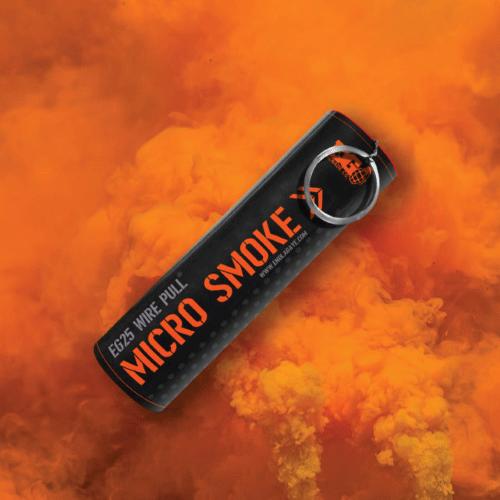 EG25 Micro Wire Pull Smoke - Orange