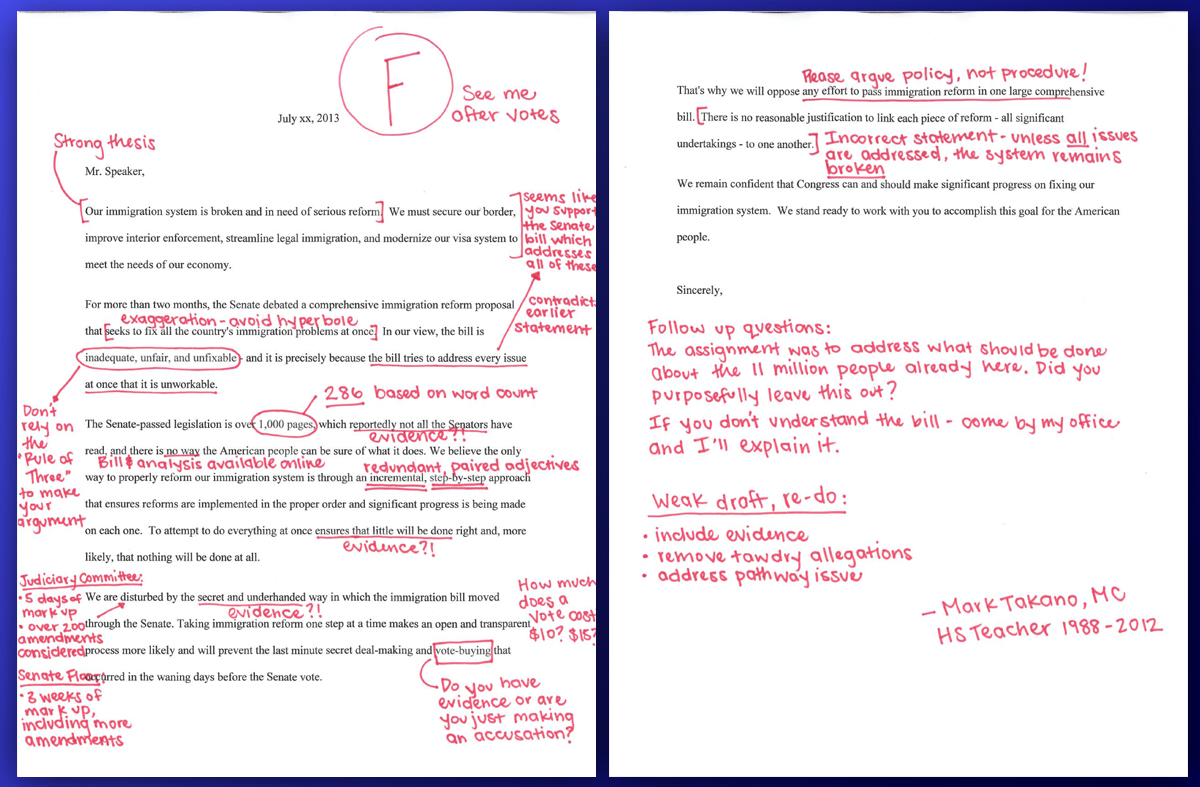 Image result for red pen corrections