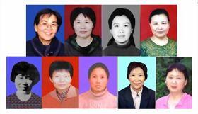 部份被迫害致死的女性法輪功學員