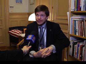 瑞典國會議員安德里亞斯•諾林先生(Andreas