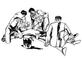 中共酷刑示意圖:灌大糞
