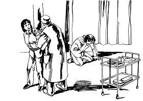 中共酷刑示意圖:注射藥物