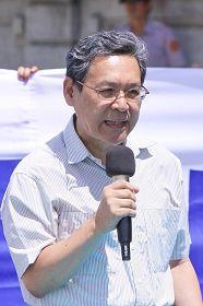 前總統李登輝民主協會秘書長彭百顯