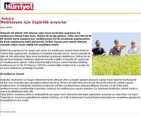 圖六:土耳其《自由報》關於法輪功的報導