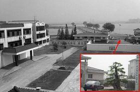 '湖北省法制教育所原址。二零零五年,為接受教育部門的檢查,湖北省司法廳將這片用地劃給武漢市警官職業學院。學院為擴建填湖。'