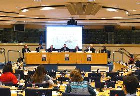 '二零一三年一月二十九日,歐洲議會舉辦了題為「中共對信仰的迫害──一個恐怖的故事」的聽證會'