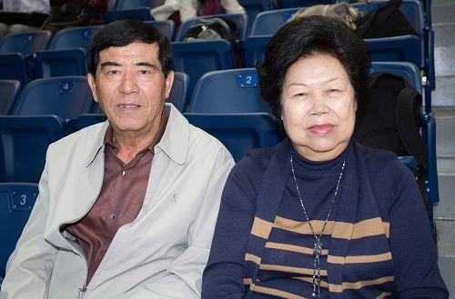經營木材工廠三十多年的陳金松先生表示,回去後我們會更精進。