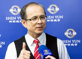 富邦金控資深處經理廖文慶:終於找到穿越天上人間的感動。
