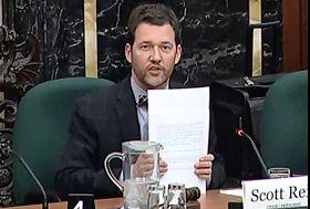 '加拿大國際人權委員會主席斯考特﹒瑞德'