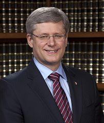 加拿大總理斯蒂芬•哈珀