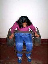 '酷刑演示:鐵椅子'