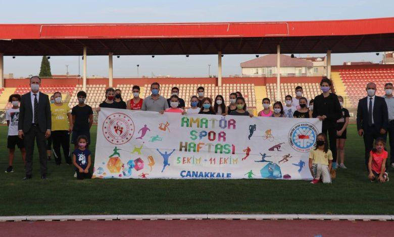 Photo of Çanakkale'de Amatör Spor Haftası Coşkusu