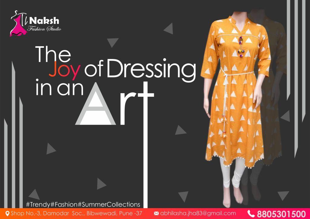 Social Media Posting Fashion Industry Naksh Fashion Studio