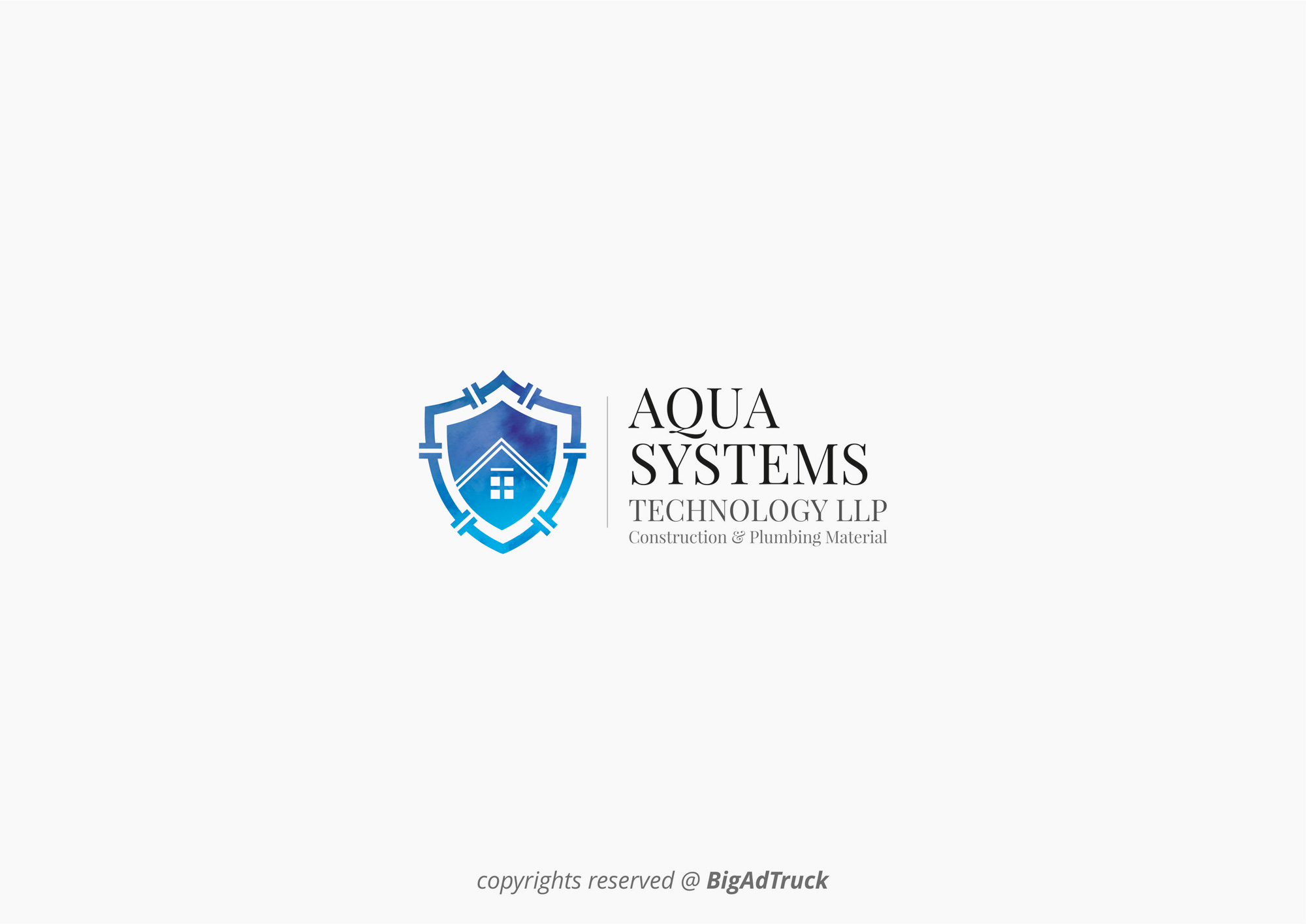 Logo Options for Corporate Company Aqua Technologies 04
