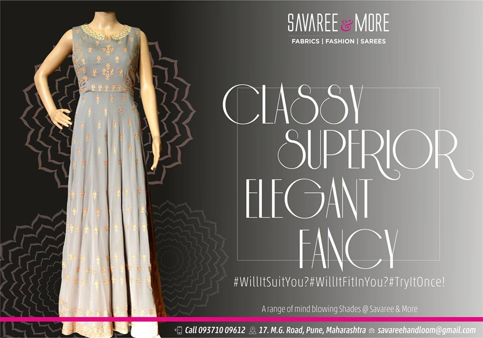 Savaree Exclusive Fabrics M. G. Road in Camp, Pune.