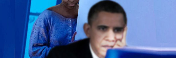 Obama-up-late-online