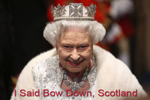 queen of england owns scotland