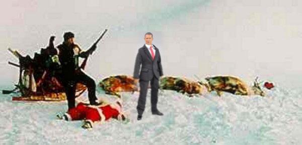 obama klls deer