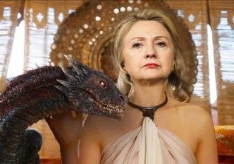 hillary clinton mother of dragons 2