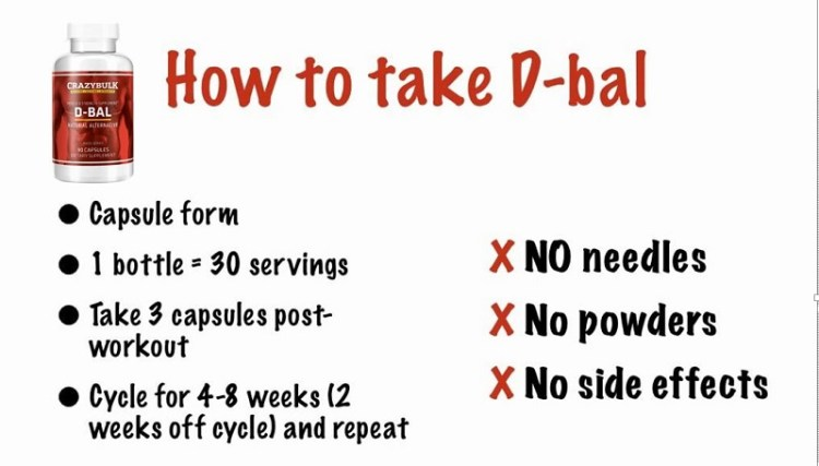 D-Bal pros and cons