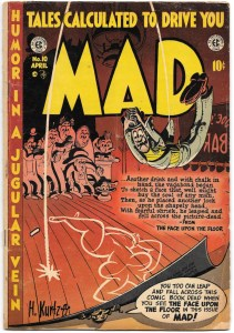 Mad #10 - G+ - April, 1954 - E.C. featuring Wally Wood art and a Wonder Woman parody!