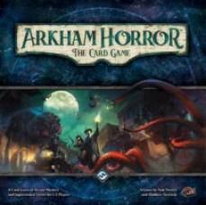Horror w Arkham Gra karciana, duże pudełko ale grę można przepakować i zabrać na wakacje