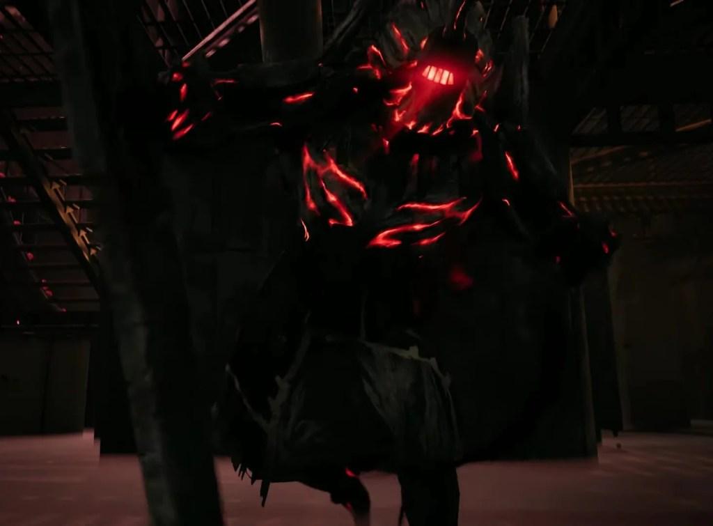 Gorefist jeden z bossów dostępnych w podziemiach.
