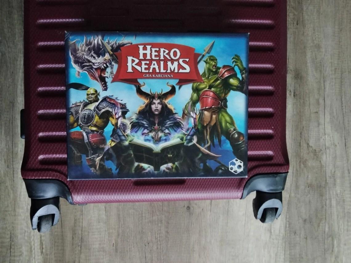 gry planszowe na wakacje hero realms