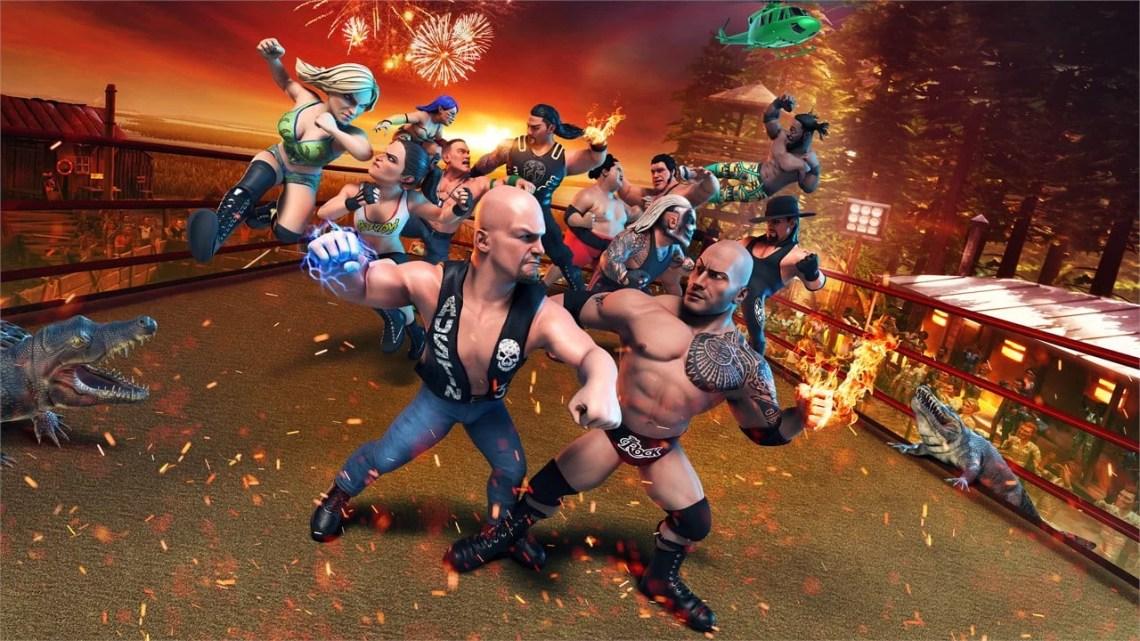WWE 2K Battlegrounds playstation plus