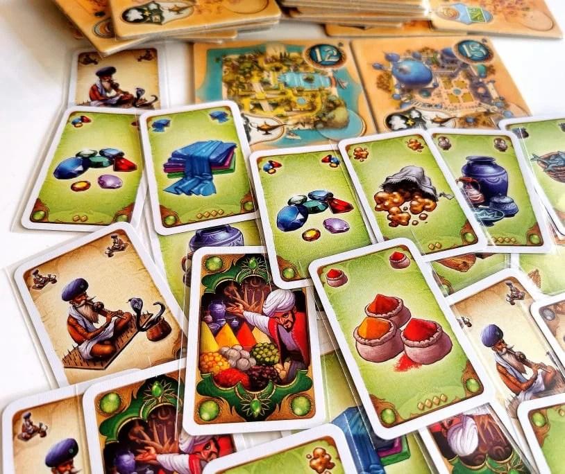 Pięć Klanów karty towarów
