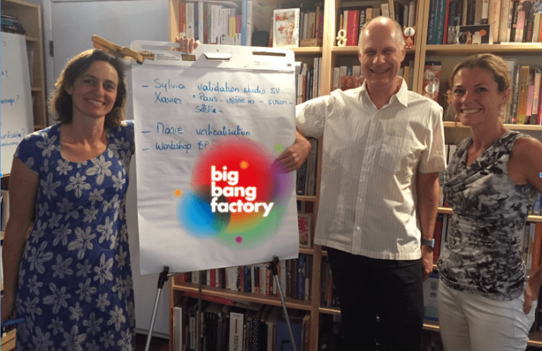 How Do You Create Co-founders? The Genesis of big bang factory…