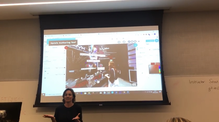 Uptale presented L'Oreal's use case during Microsoft's Retail Innovation Days