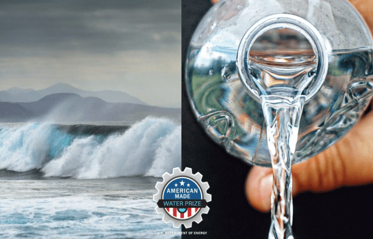 Pytheas Technology & Resolute Marine won the concept stage of the US Department of Energy Waves to Water Prize.