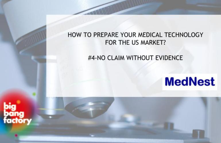 #4- No clinical or marketing claim without evidence