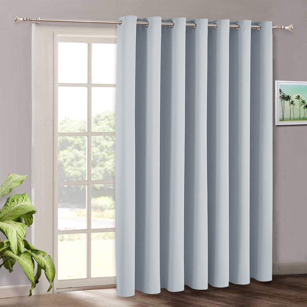 2. RYB HOME Room Darkening Curtain