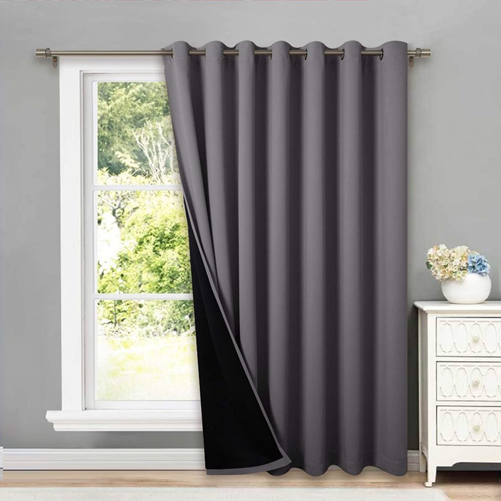 4. NICETOWN Total Shade Curtain