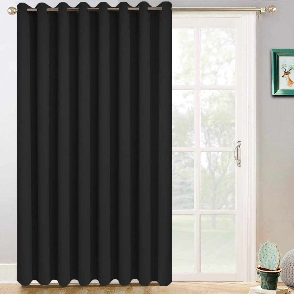 10. Yakamok Sliding Door Insulated Curtain
