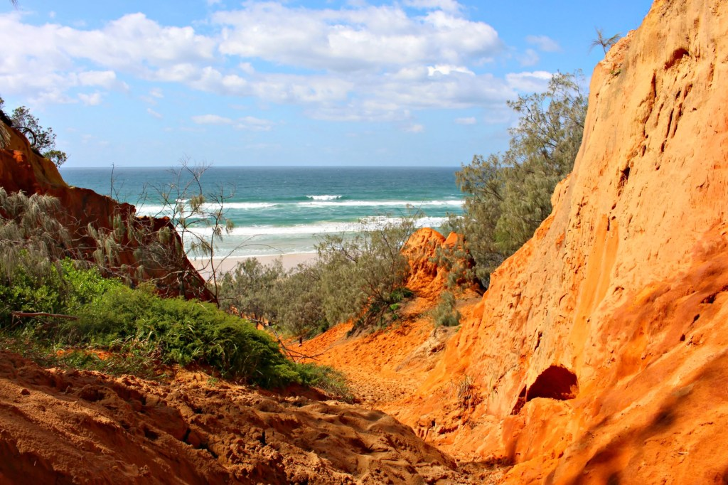 Cooloola Red Canyon